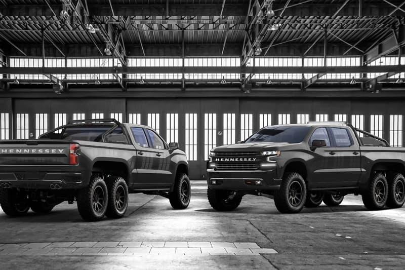 硬漢座駕-Hennessey 打造 Chevrolet Silverado 皮卡 6x6 改裝版本