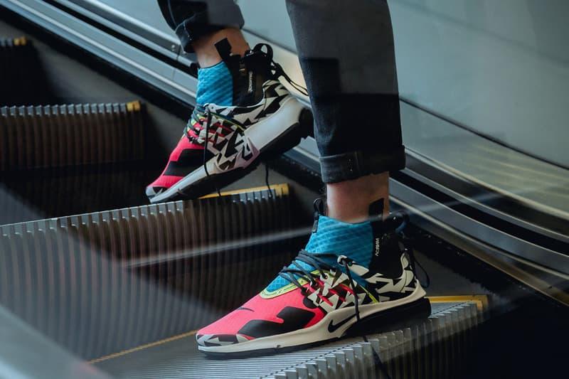 Nike Air Presto Mid x ACRONYM® 全新系列實物上腳