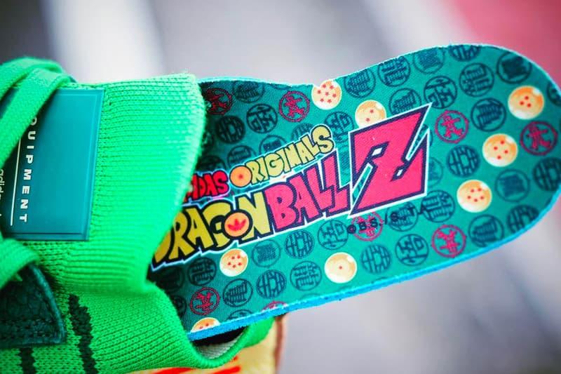adidas Originals by Dragon Ball Z 聯乘 EQT Support ADV Primeknit「Shenron」鞋照近賞