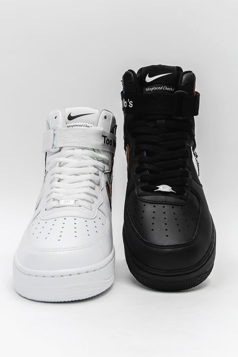 John Geiger 推出 Nike Air Force 1「Misplaced Checks」全新高筒版本
