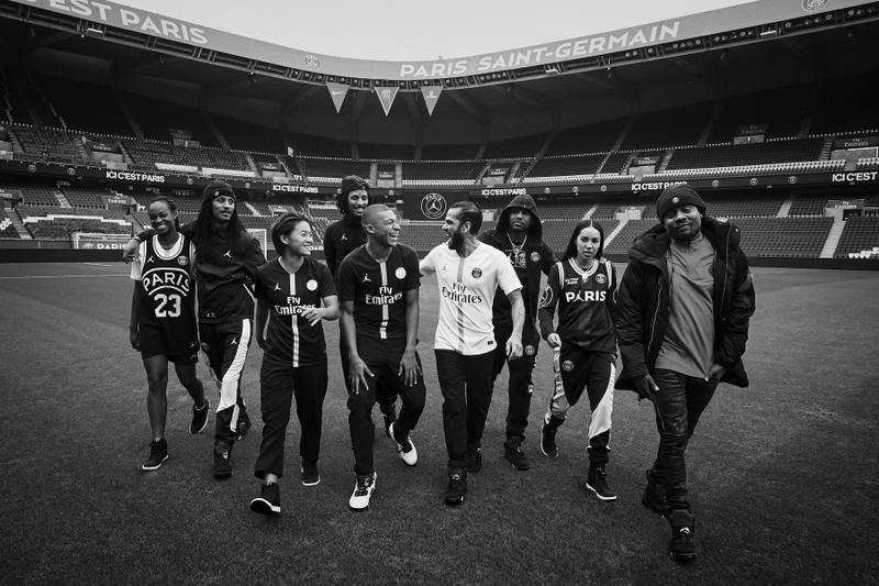 Jordan Brand x Paris Saint-Germain 聯乘系列即將上架