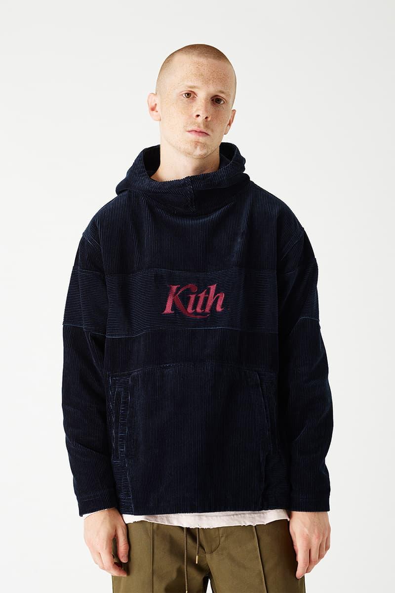 主打燈芯絨和拼接設計-KITH 2018 秋季系列正式發佈