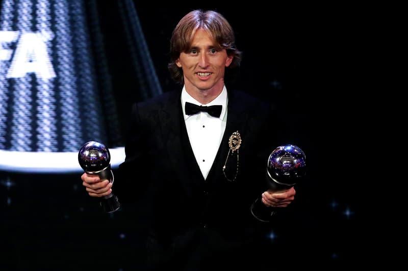 Luka Modric 贏得 FIFA 2018「世界足球先生」大獎