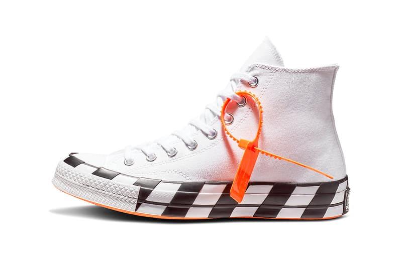 Off-White™ x Converse 第二雙聯乘 Chuck 70 官方圖片釋出