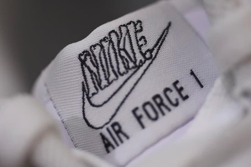 Nike Air Force 1 萬聖節別注配色「Skeleton」搶先曝光