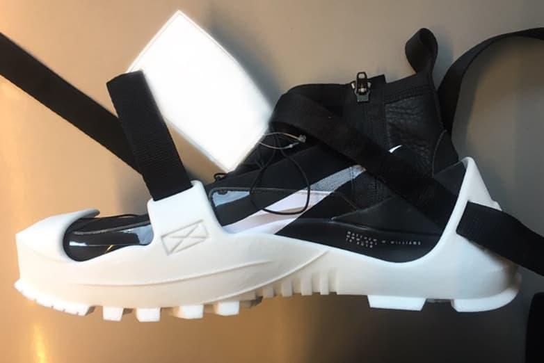Matthew M. Williams 曝光 1017 ALYX 9SM x Nike 聯乘鞋款白色版本
