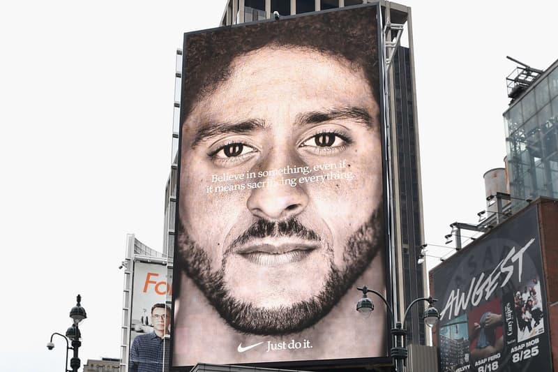 Colin Kaepernick 效應!Nike 股價增加超過 60 億美元