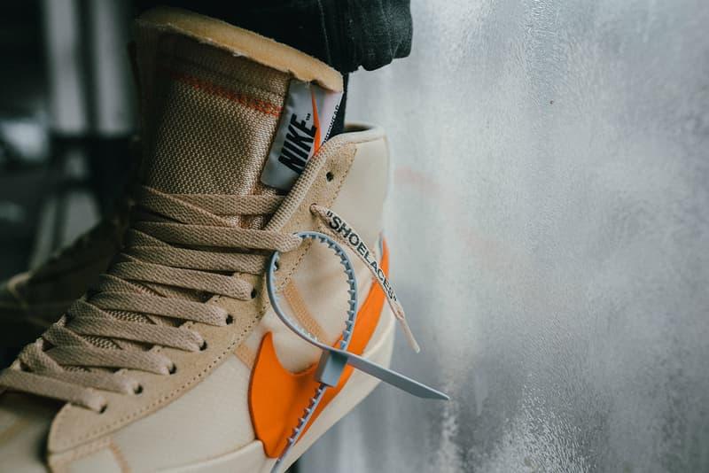 Off-White™ x Nike Blazer Mid 全新聯乘「Spooky Pack」系列上腳一覽