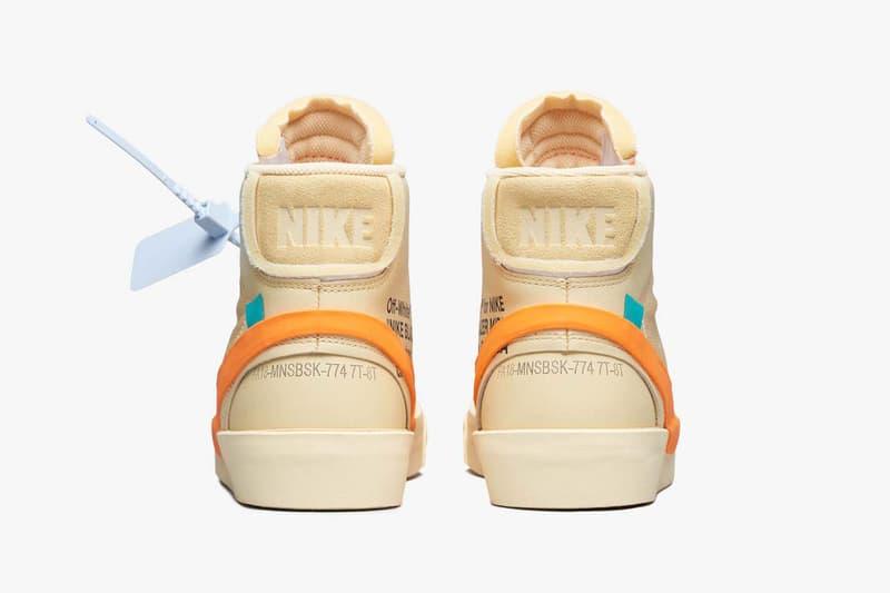 Off-White™ x Nike Blazer 全新聯乘「Spooky Pack」官方圖片釋出