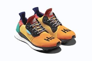 Pharrell x adidas 全新聯乘跑鞋 Solar Hu Glide 正式上架