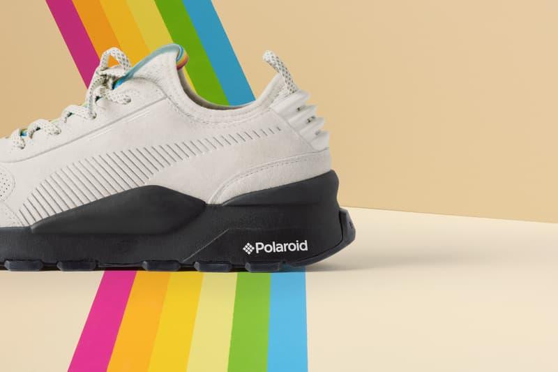 PUMA x Polaroid 聯乘 RS-0 鞋款即將上架