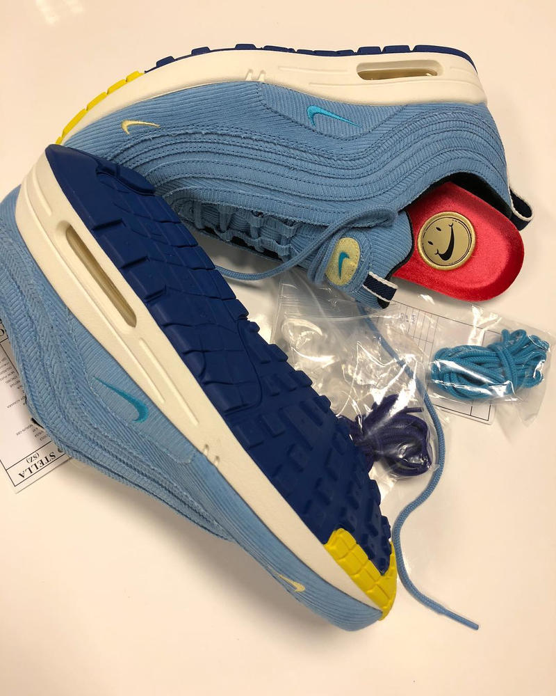 Sean Wotherspoon 親自曝光 Nike Air Max 1/97 SW 全新配色設計