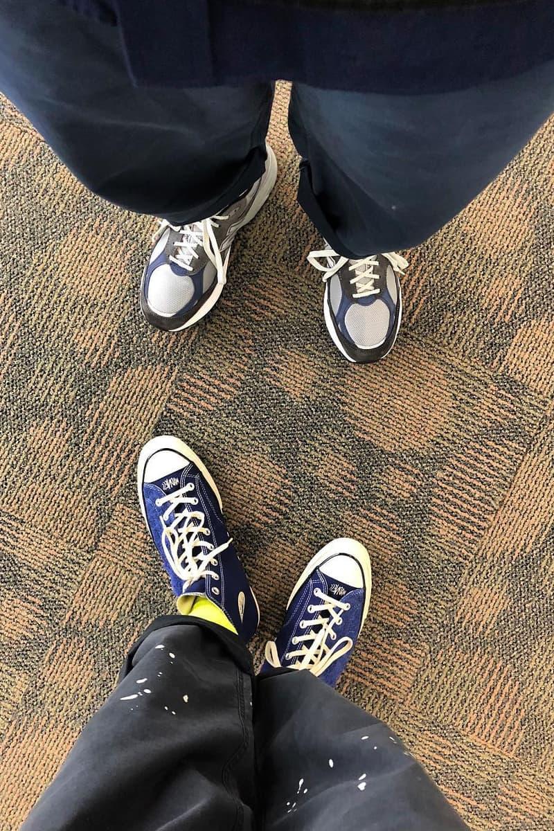 余文樂曝光新一枚 MADNESS x Converse 全新聯乘 Chuck 70?!