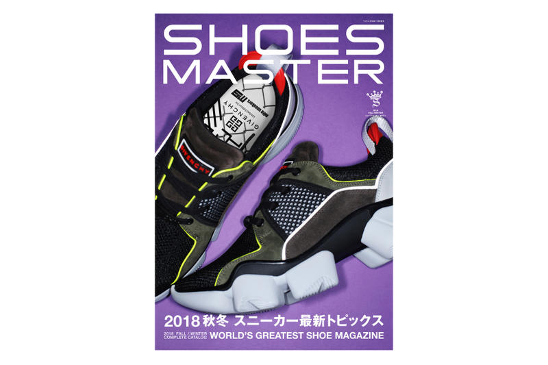 《SHOES MASTER》最新一期揭示 Givenchy x mita sneakers 全新聯乘鞋款
