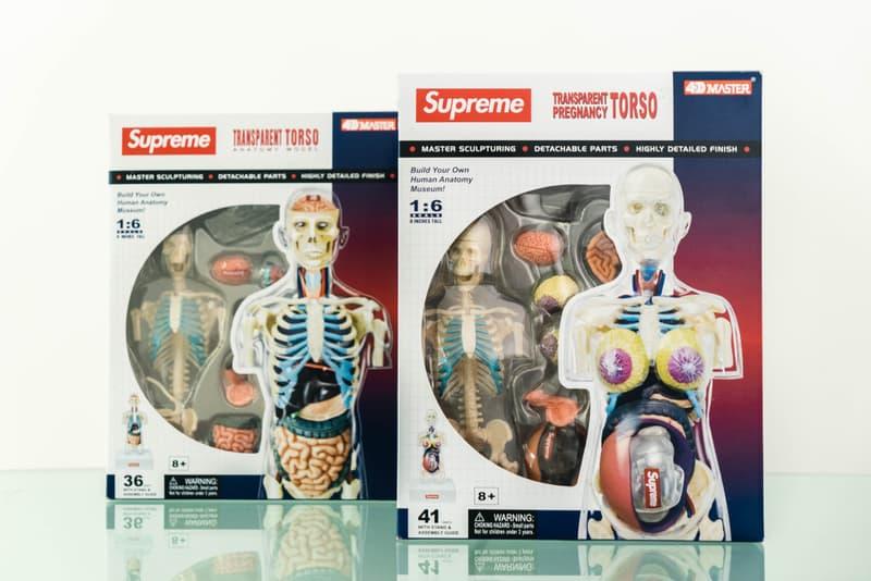 蜚聲國際!Supreme 本季人體解剖模型單品大有來頭?!