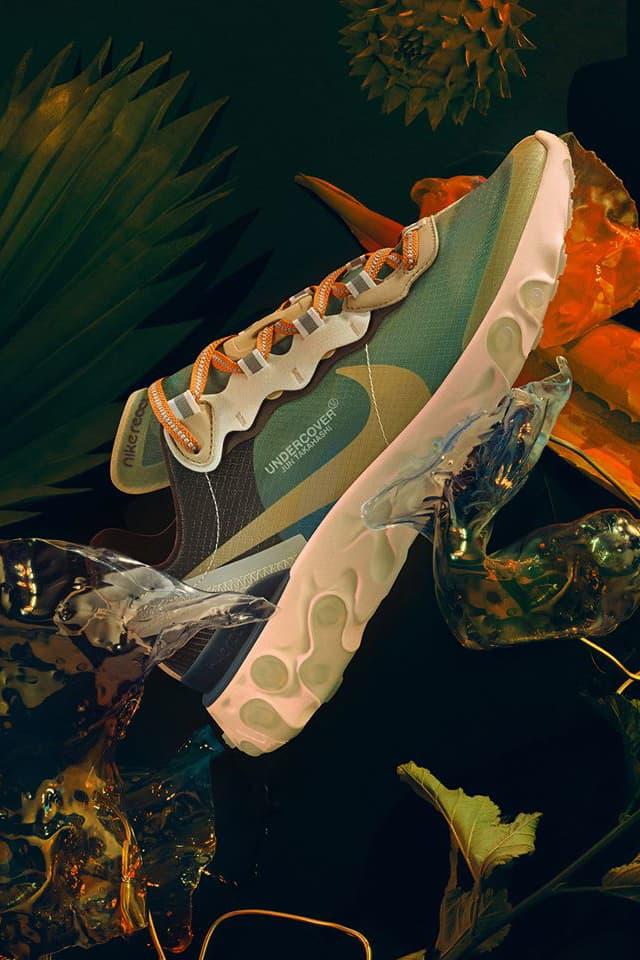 UNDERCOVER x Nike React Element 87 聯乘系列正式發表