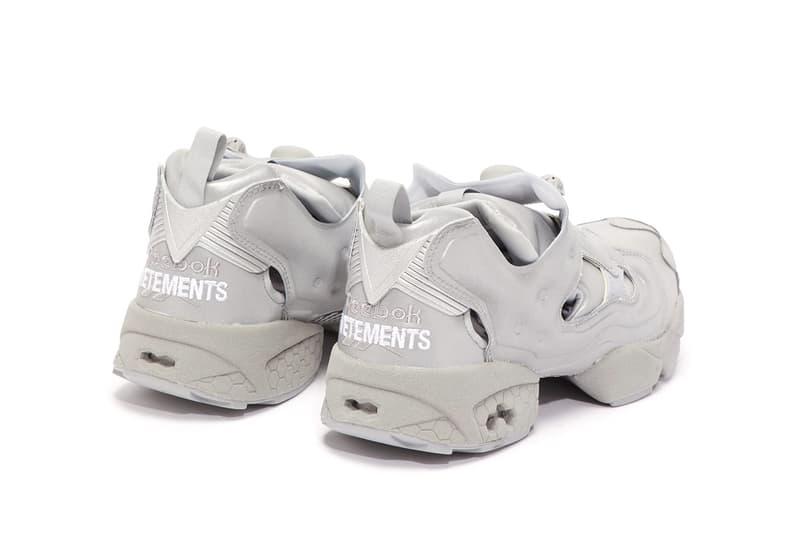 Vetements X Reebok 聯名「反」高潮 Instapump Fury 鞋款
