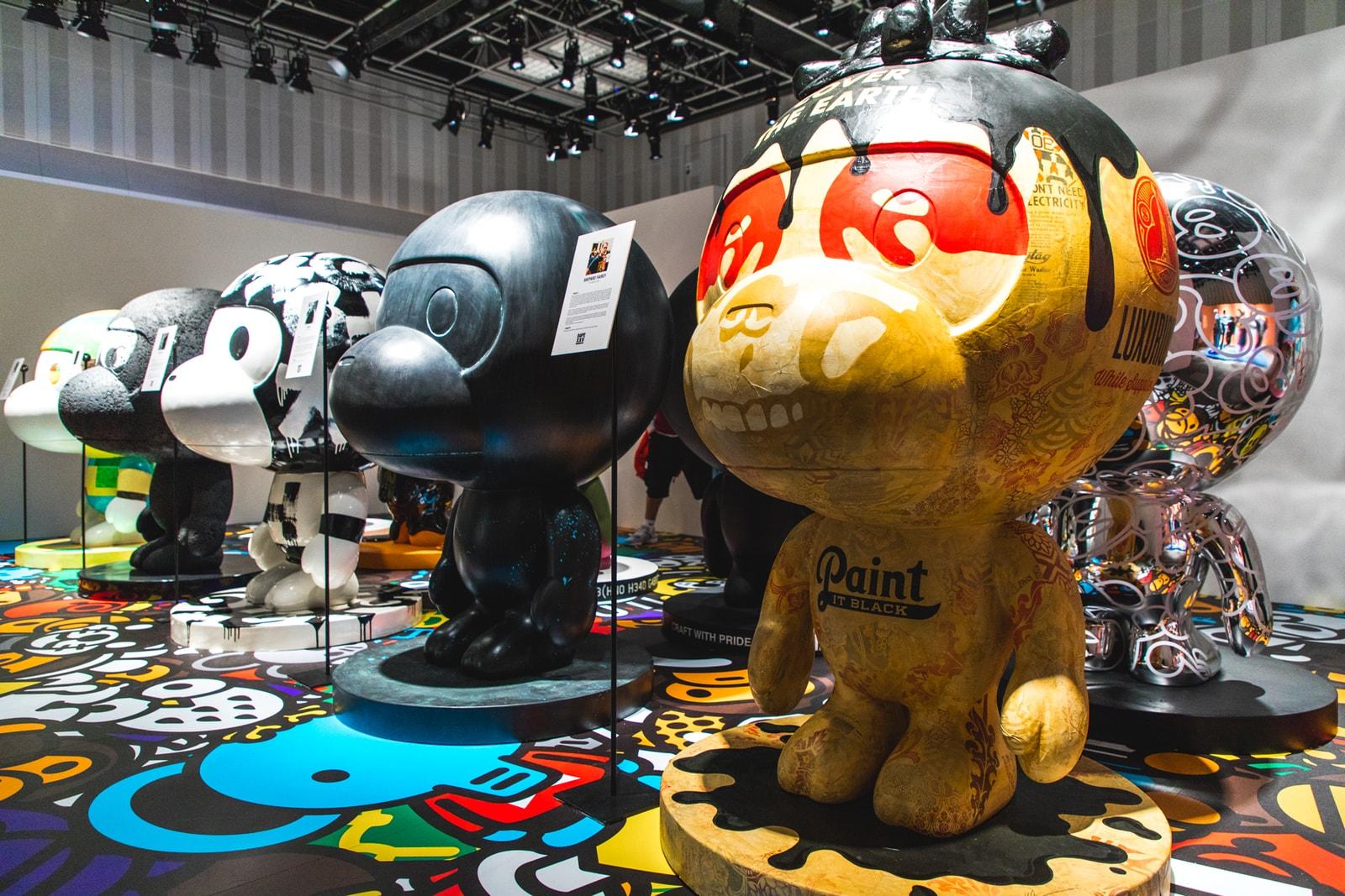 重磅聯名全公開!走進東京 A BATHING APE® 25 周年「XXV」展覽