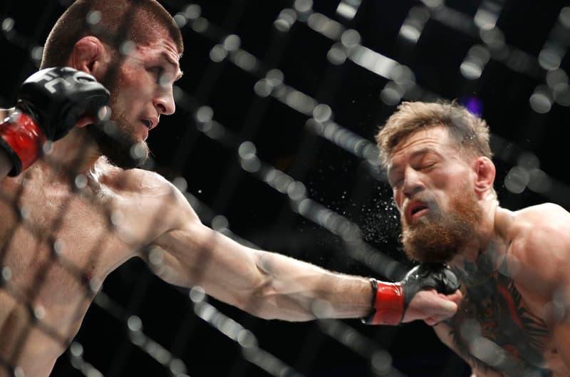 UFC 229 記者會 Khabib 正式回應為何襲擊 McGregor 團隊