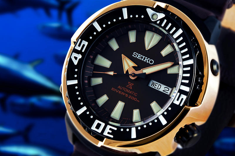 SEIKO 為亞太地區推出限定配色「黃鰭吞拿魚」