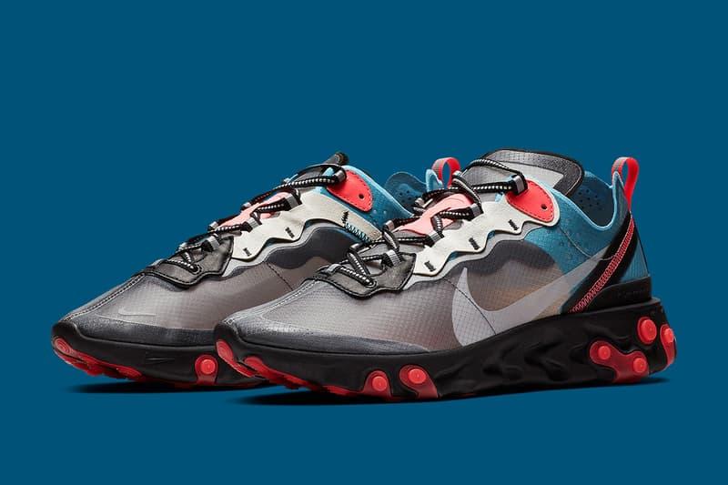 Nike React Element 87 再度釋出全新配色