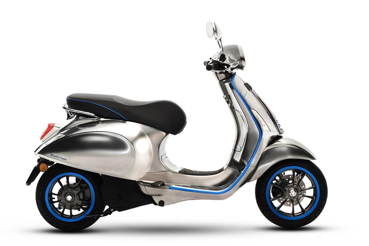 下月歐洲上市!Vespa 首款電動機車 Elettrica 售價正式公佈!