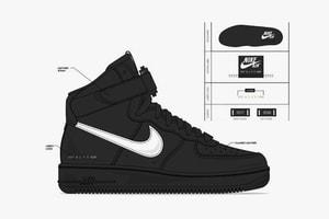 1017 ALYX 9SM x Nike 全新聯乘 SF-AF1 Mid 系列設計圖公開