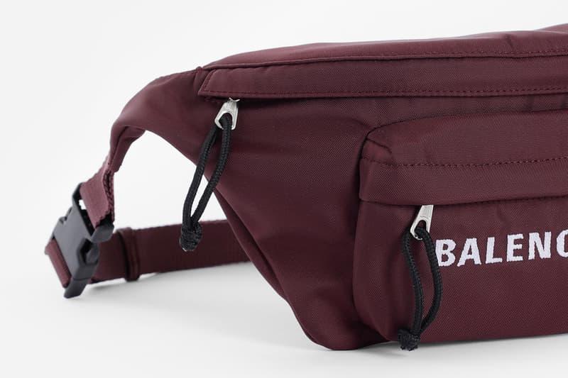 Balenciaga 2018 秋冬最新腰包正式發佈