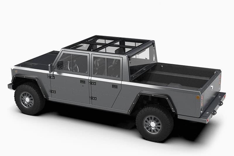 Bollinger Motors 推出炭灰色鋁製電動 Pickup Truck 貨卡車