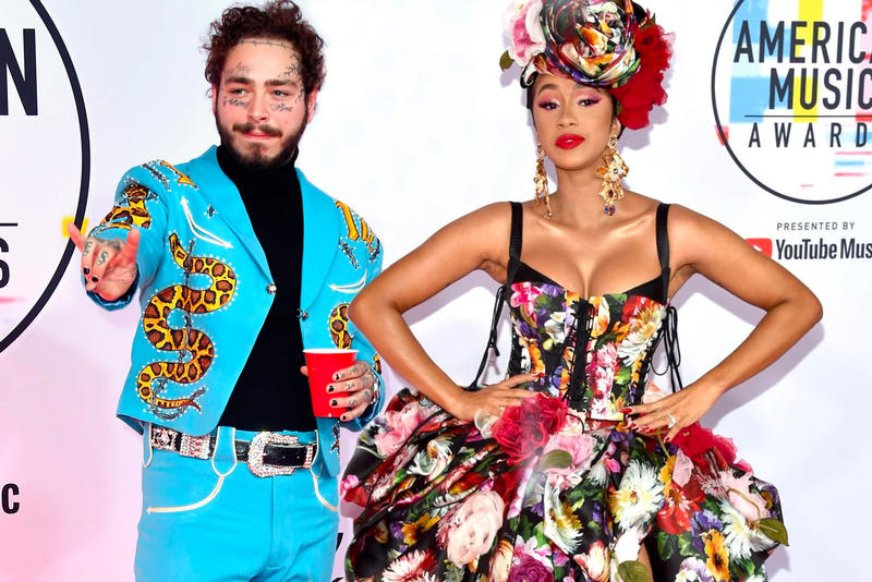 Post Malone & Cardi B 遭剝奪競爭 Grammy「最佳新人」資格