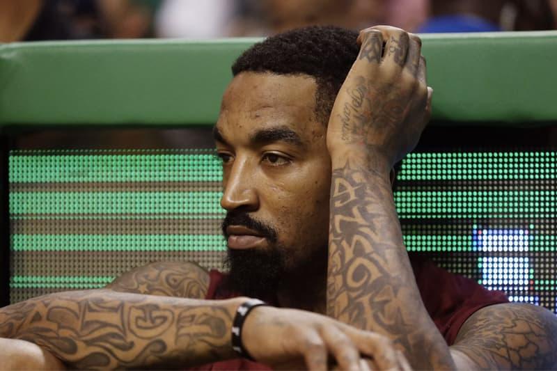 「我絕不白白送錢!」J.R. Smith 回應 NBA 聯盟針對「Supreme 刺青」罰款一事