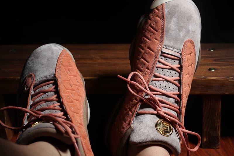 率先近賞 CLOT x Air Jordan 13 Low 聯乘鞋款