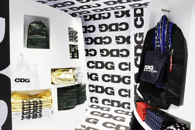 直擊 COMME des GARÇONS 支線 CDG 最新 Dover Street Market 展示間