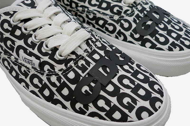 COMME des GARÇONS CDG x Vans 聯乘 Authentic 鞋款即將上架