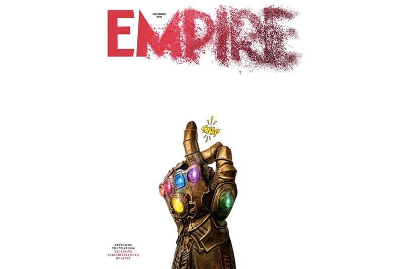 Thanos の 彈指毀滅!《Empire》最新一期獨家封面釋出