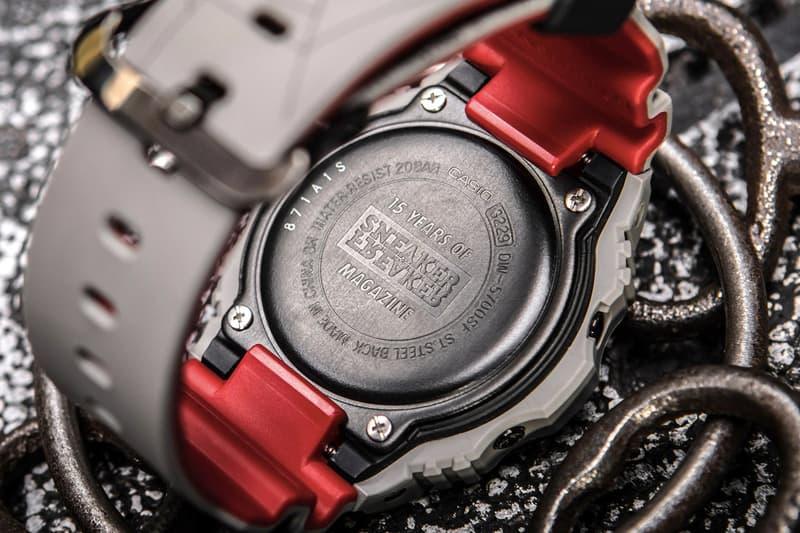 恐怖配色!G-Shock x Sneaker Freaker 攜手打造別注版 DW-5700 手錶