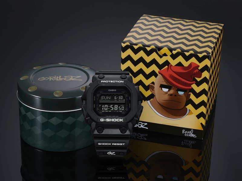 Gorillaz x G-SHOCK 35 周年聯乘別注系列發售詳情公開