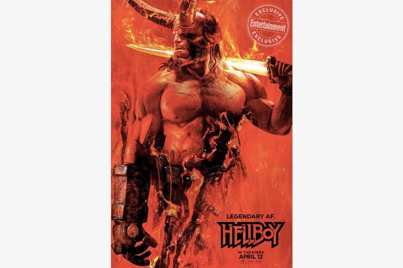 地獄怒火 − 新版《Hellboy》電影主角「地獄怪客」造型再次亮相