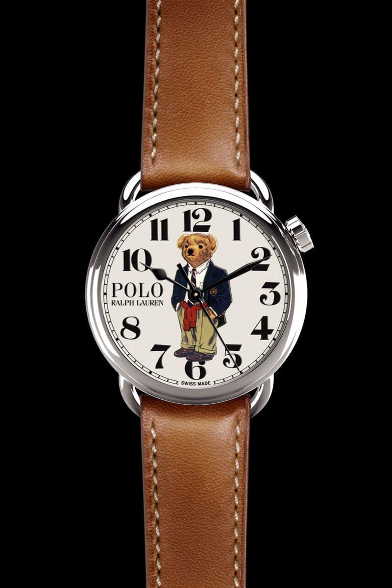 Ralph Lauren 為經典 Polo Bear 推出手錶系列