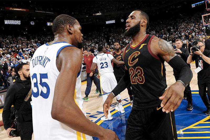 LeBron James 曾經招募 Kevin Durant 加盟 Lakers?KD:「子虛烏有!」