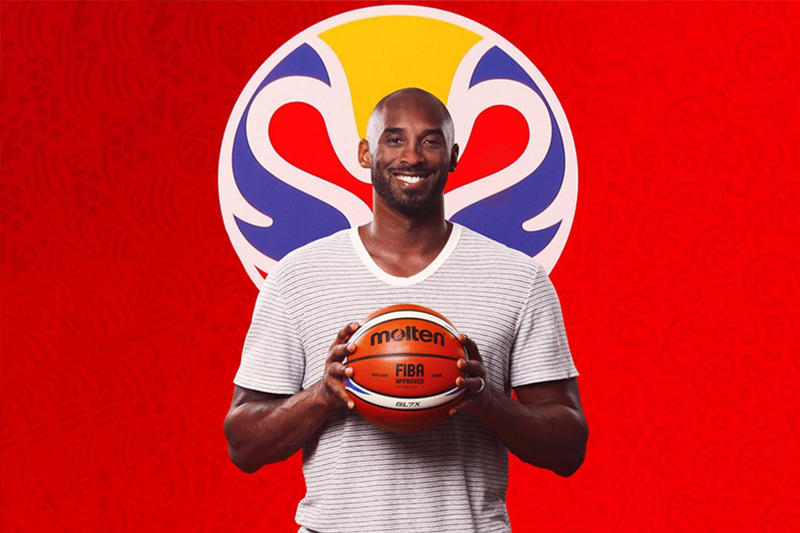 Kobe Bryant 出任 2019 FIBA 世界盃全球大使