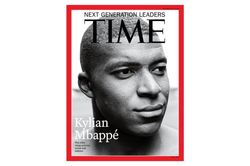 法國足球未來・Kylian Mbappe 登上《TIME》封面