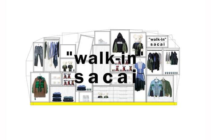 "Lane Crawford 獨家迎來 sacai 期間限定店 ""walk-in"""