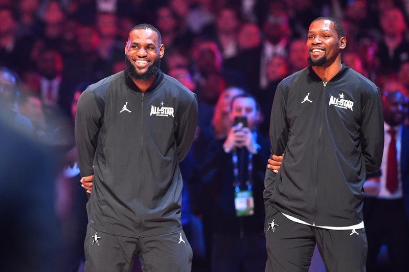KD 將降臨洛城?Magic Johnson:「我喜歡他跟 LeBron 穿 Lakers 球衣的樣子。」