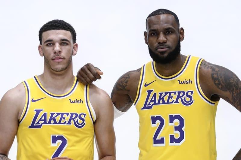 邁向偉大之後 − LeBron James 再稱 Lonzo Ball 為「Young King」
