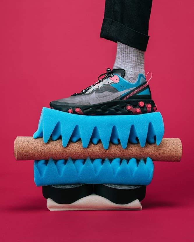 三色齊發!Nike React Element 87 最新配色圖輯近賞