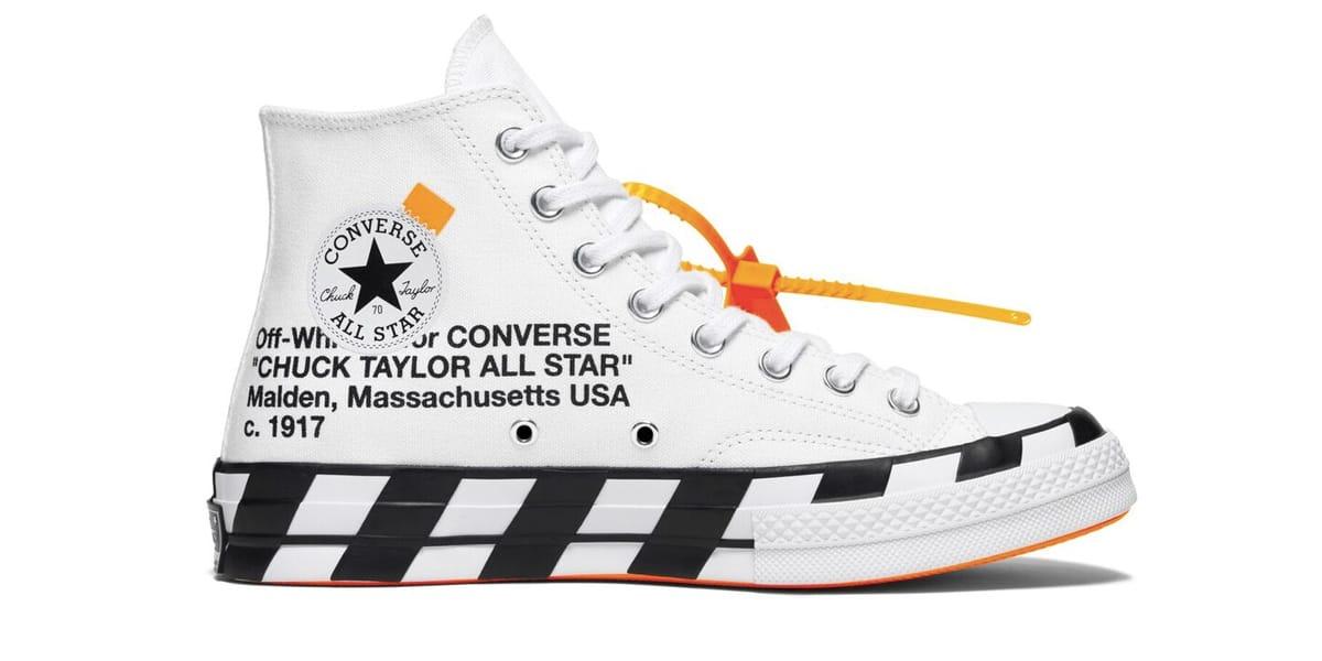 完整收錄− Off-White™ x Converse 全新聯