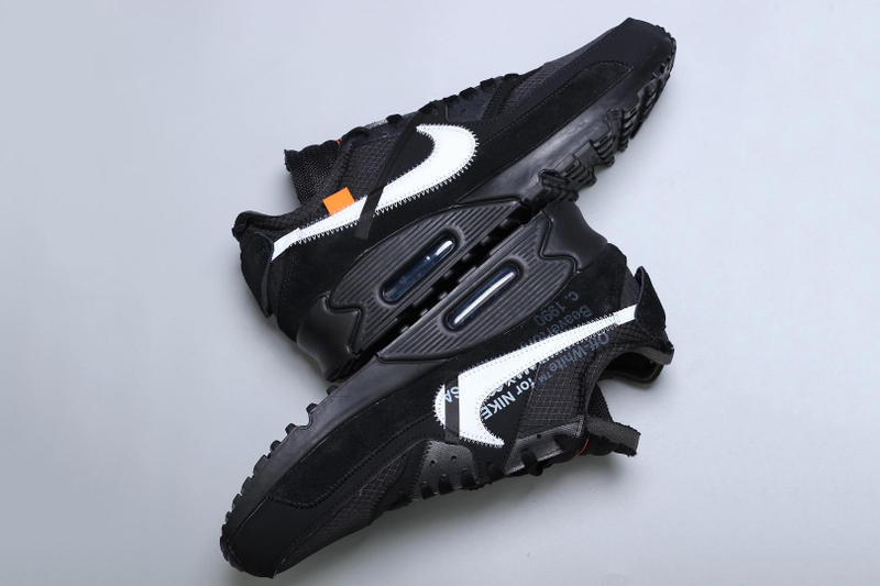 率先近賞 Off-White™ x Nike Air Max 90 全新黑色版本