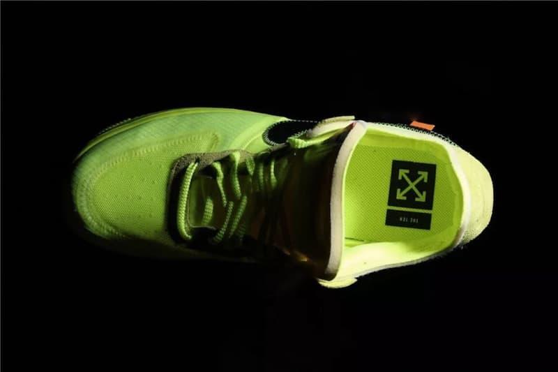 率先近賞 Off-White™ x NikeLab Air Force 1 Low 全新配色「Volt」