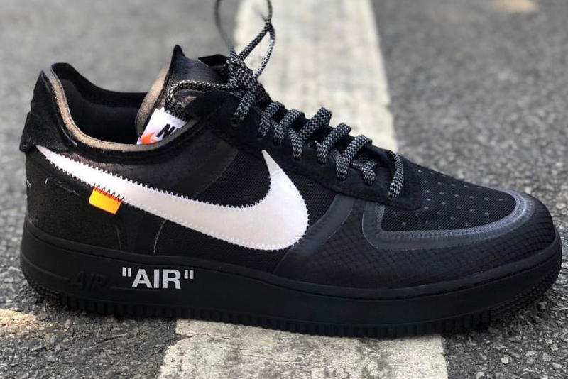 Off-White™ x Nike Air Force 1「The Ten」2.0 黑色版本曝光